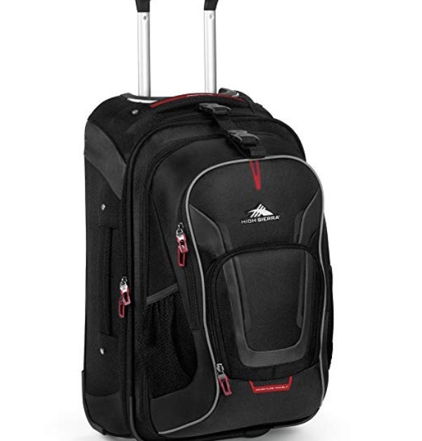 High Sierra AT7 carry-on wheeled backpack with removable daypack for $59, free shipping
