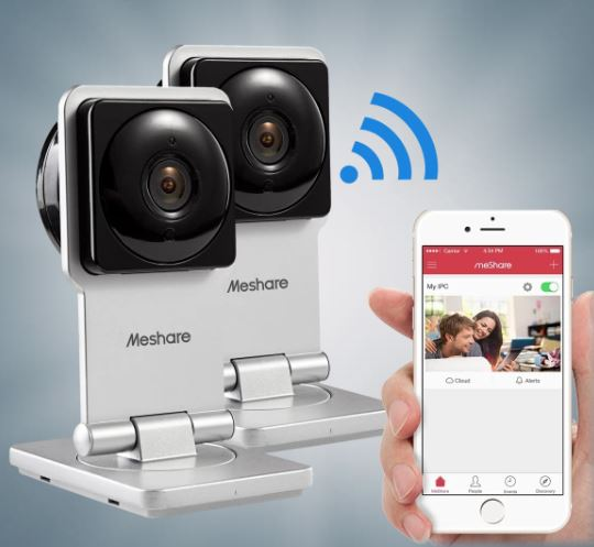 Today only: 2-pack Zmodo MeShare 720P Wi-Fi cameras for $45 shipped