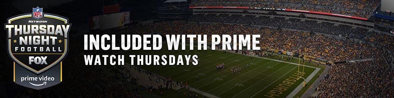 Prime members: Stream select Thursday night NFL football games FREE!