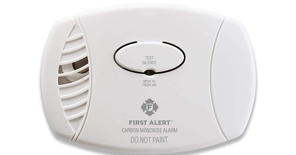 First Alert plug-in carbon monoxide detector with battery backup for $20