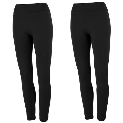 2-pack True Rock women's fleece lined leggings for $20