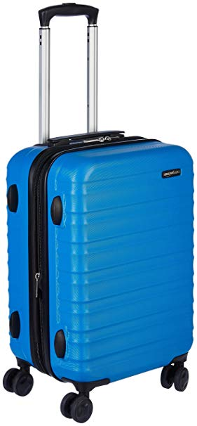 AmazonBasics 20″ hardside spinner carry-on for $38