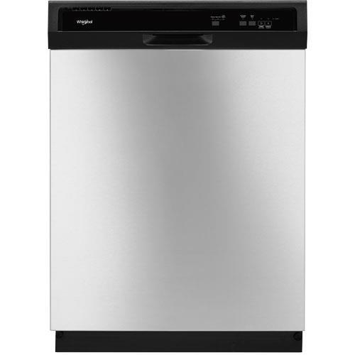 Whirlpool 24″ stainless steel built-in dishwasher for $250
