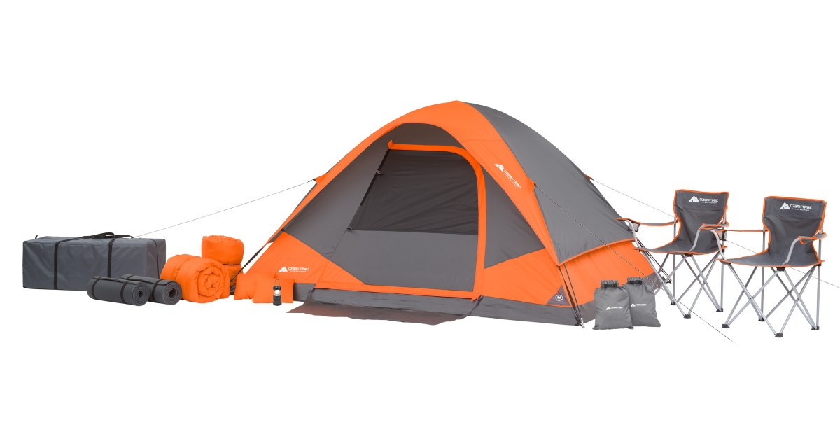 Ozark Trail 22-piece camping combo set for $100