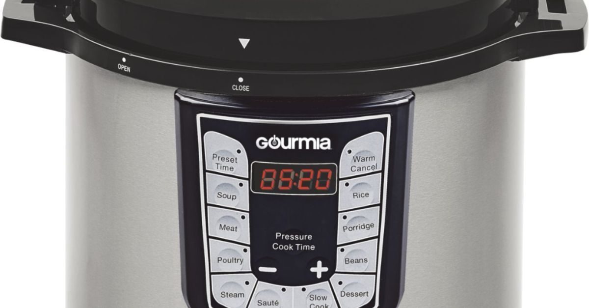 Gourmia 6-quart electric pressure cooker for $40