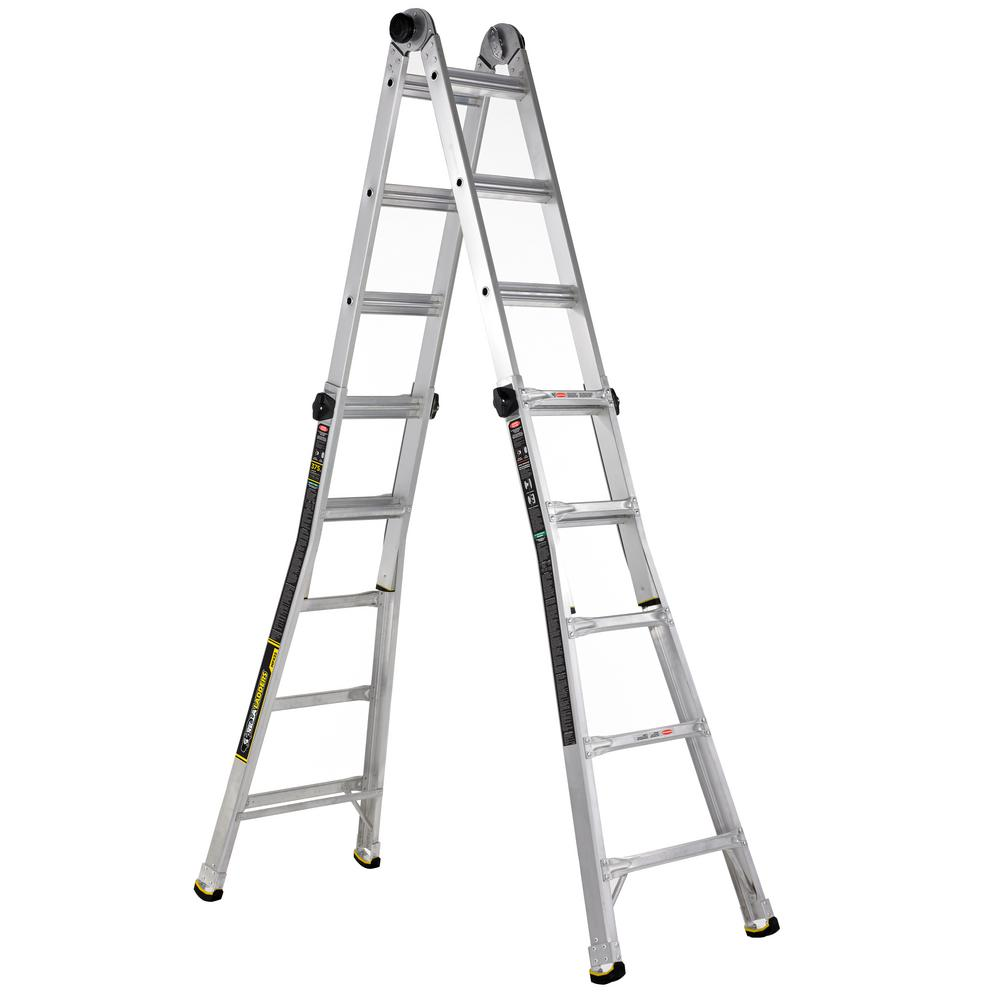 Gorilla Ladders 22-ft. MPX Aluminum ladder with 375 lb