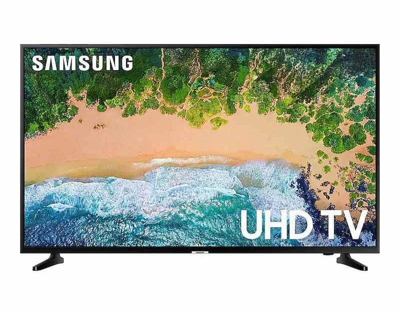 Today only:  55″ Samsung 4K smart TV for $349
