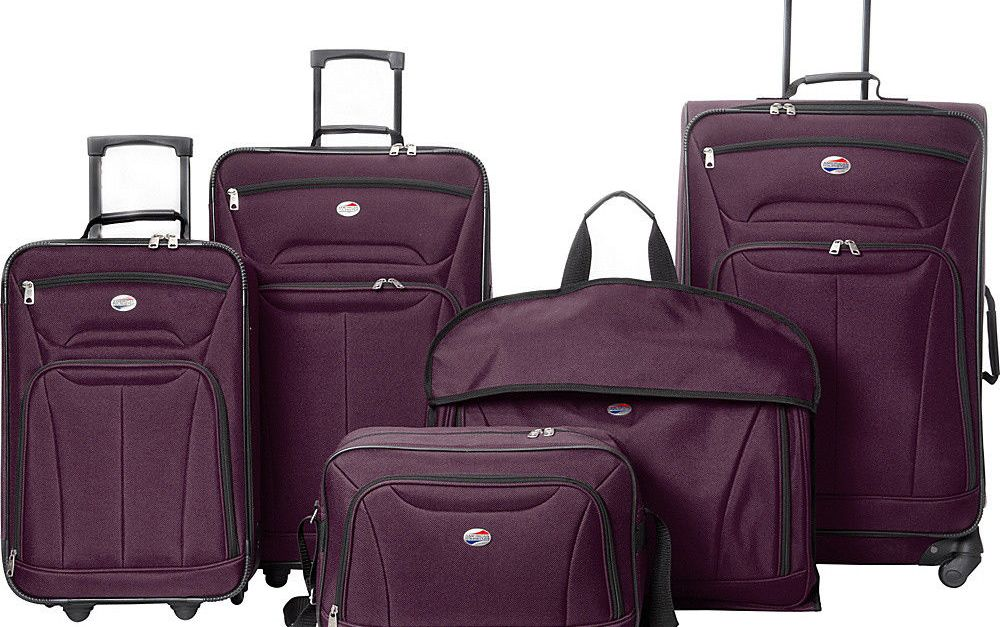 American Tourister Wakefield 5-piece luggage set for $80, free shipping