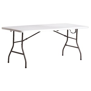 Living Accents 30-inch fold-in-half table for $30