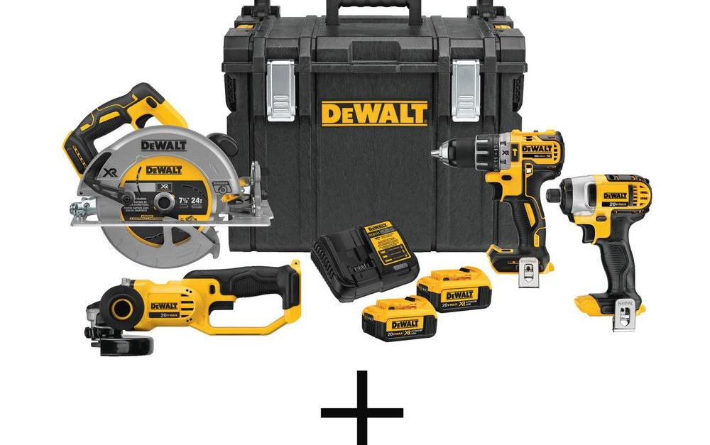 Today only: Dewalt tool sets from $199 at The Home Depot