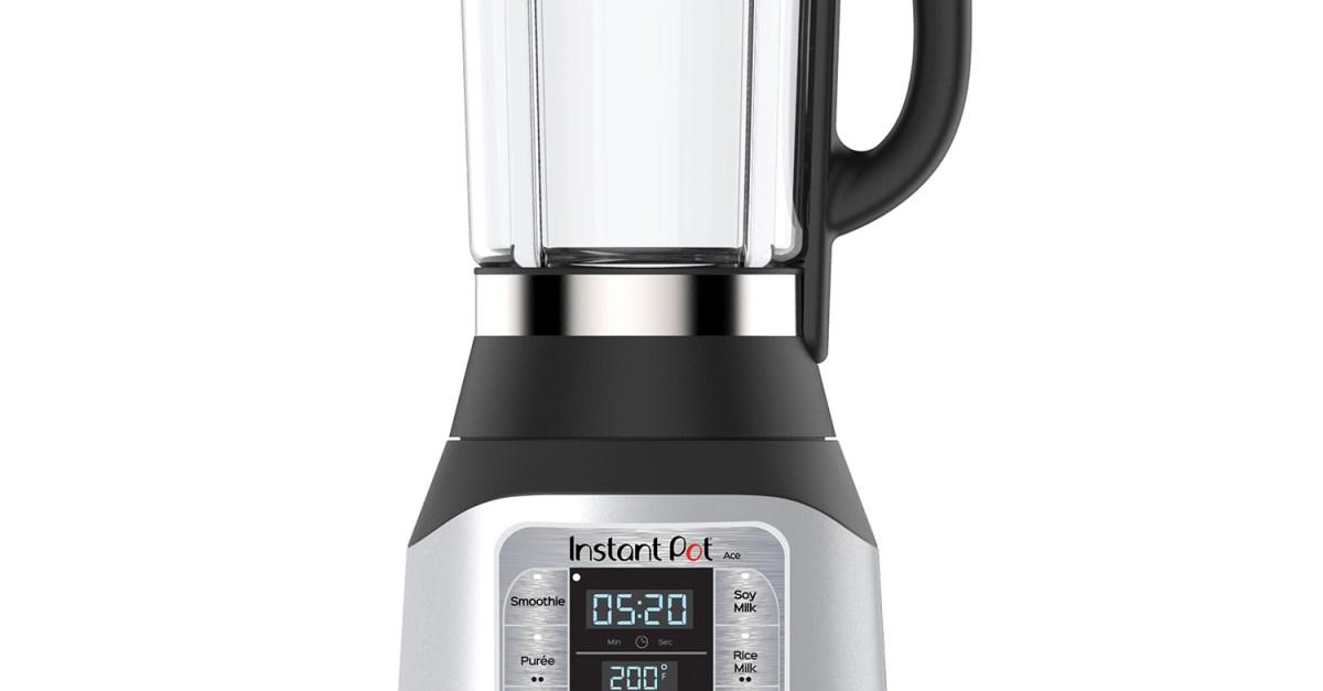 Instant Pot Ace 60 cooking blender for $70