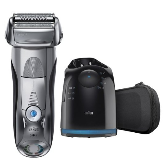 Braun 790cc men's electric foil shaver with charge station for $200