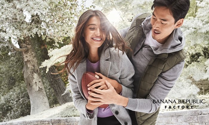 $50 Banana Republic Factory gift card for $30