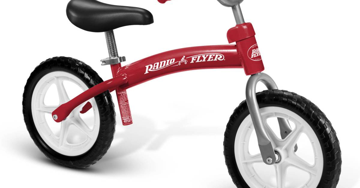 Radio Flyer Glide & Go balance bike for $35