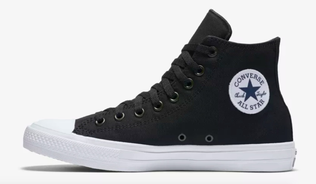 Converse Chuck II high top sneakers for $25