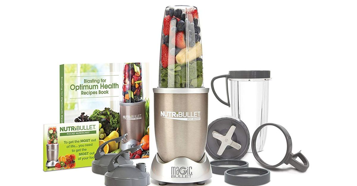 Today only: NutriBullet Pro 13-piece high-speed blender system for $50