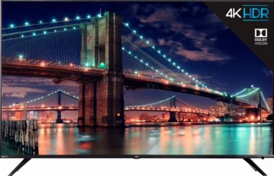 55″ TCL 6 Series 4K UHD HDR Roku smart TV for $500