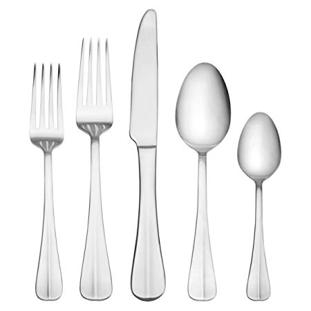 53-piece stainlesss steel flatware set for $22