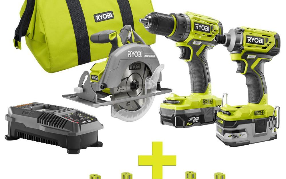 Save up to 50% on Ryobi power tool sets at The Home Depot