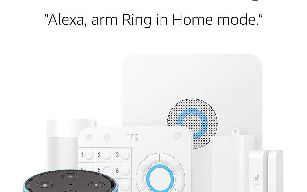 5-piece Ring Alarm security kit with Echo Dot for $159, free shipping