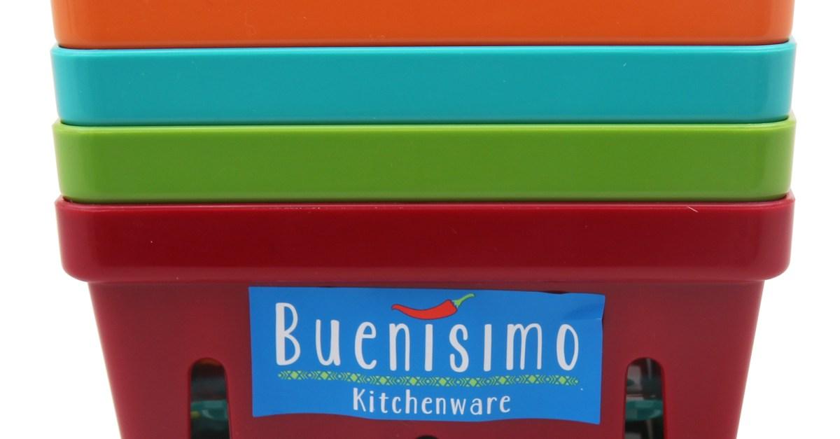Buenisimo 4-piece mini basket set for $3