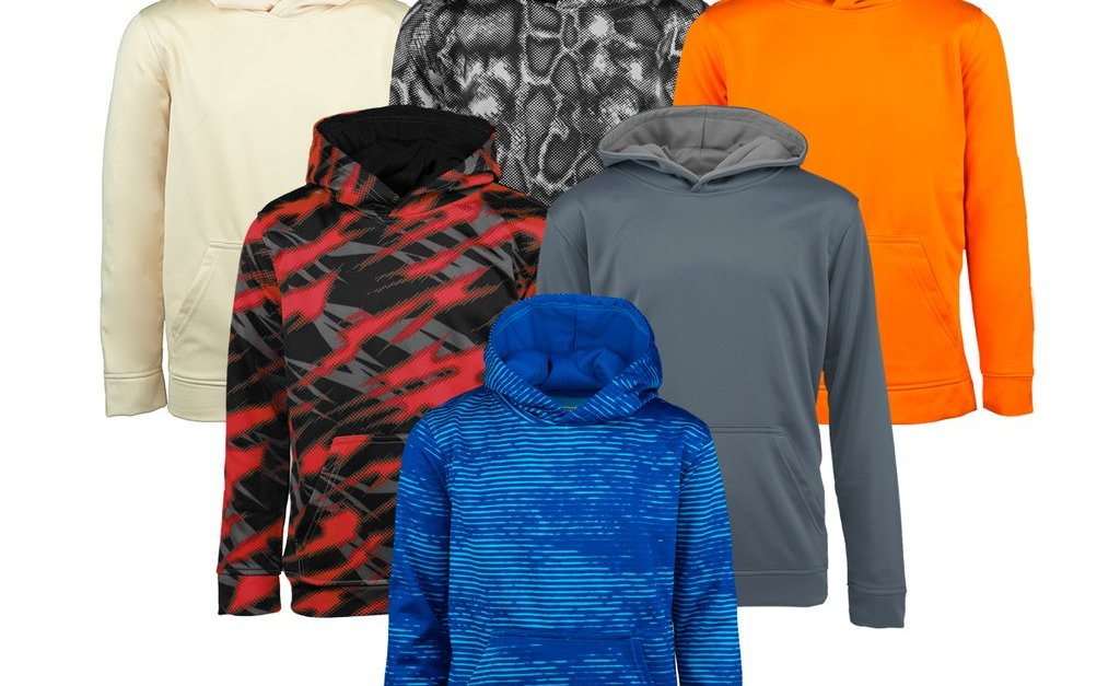 3-pack Champion boys' mystery hoodie for $25, free shipping