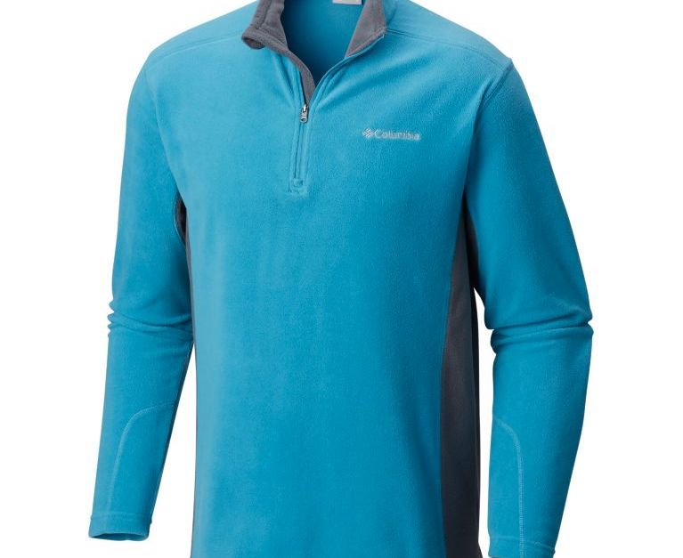 Columbia men's half-zip fleece jacket for $20, free shipping
