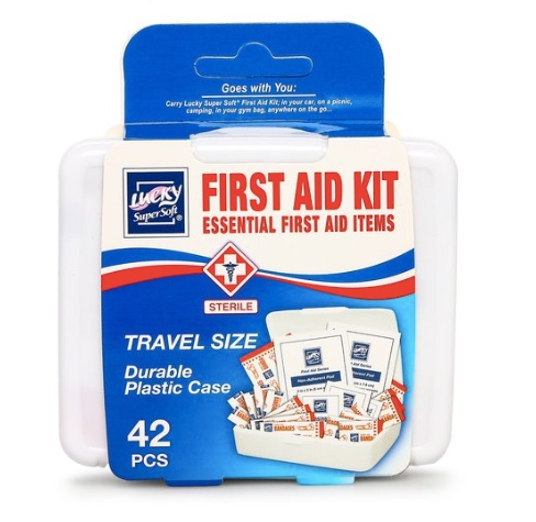 42-piece first aid kit for $1
