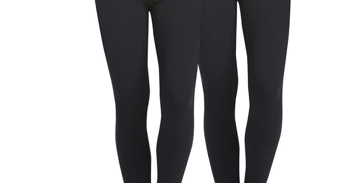 2-pack women's leggings for $12, free shipping