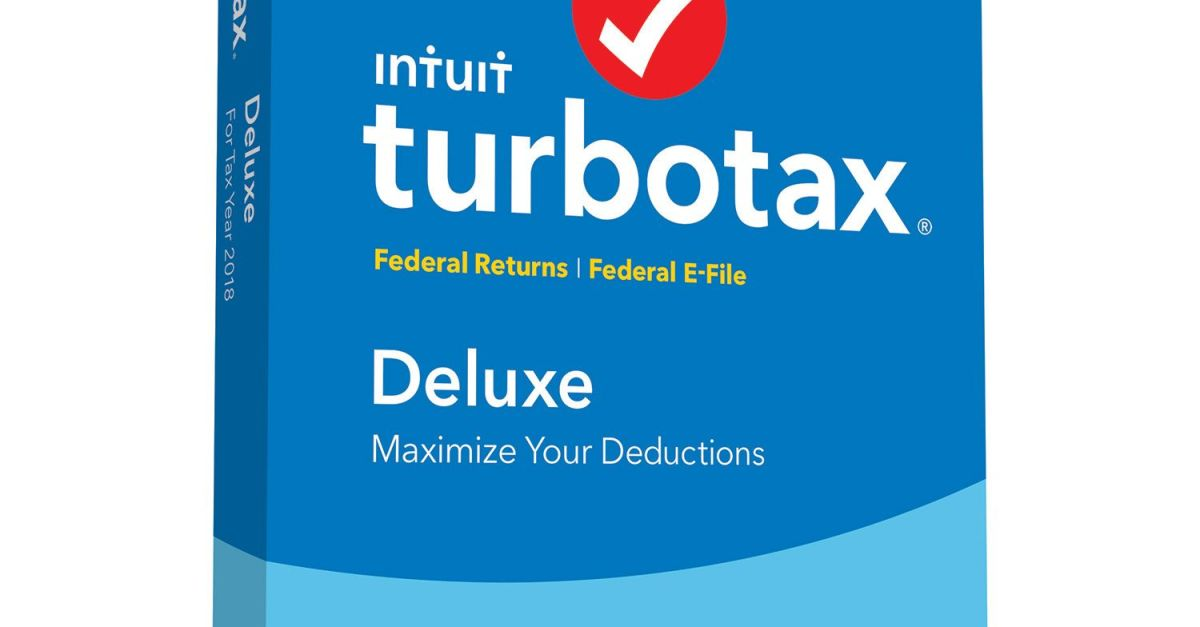 TurboTax Deluxe + State 2019 tax software for $40