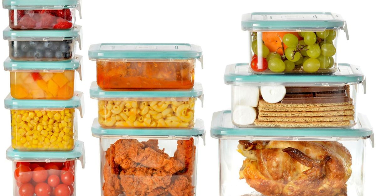 22-piece Wellslock food storage set for $15, free shipping