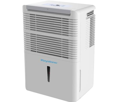 Today only: Refurbished Keystone 50-pint portable dehumidifier for $128