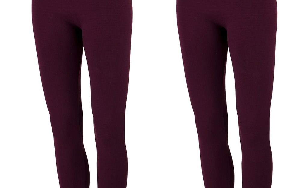 2-pack True Rock women's fleece-lined leggings for $10, free shipping