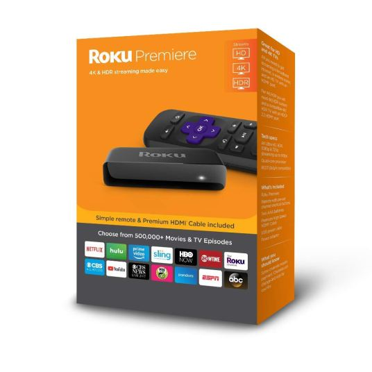 Roku Premiere 4K HDR streaming media player for $29