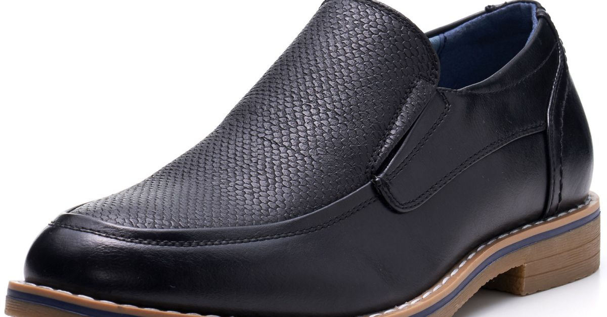 Alpine Swiss Carter men's slip on loafers for $27, free shipping