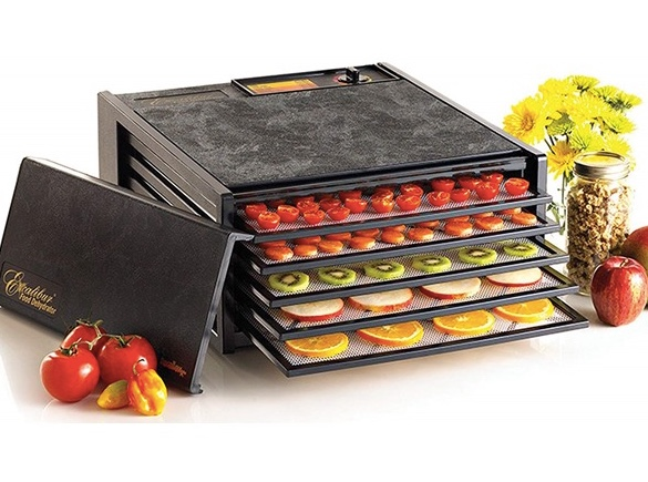 Today only: Excalibur 5-tray electric food dehydrator for $150