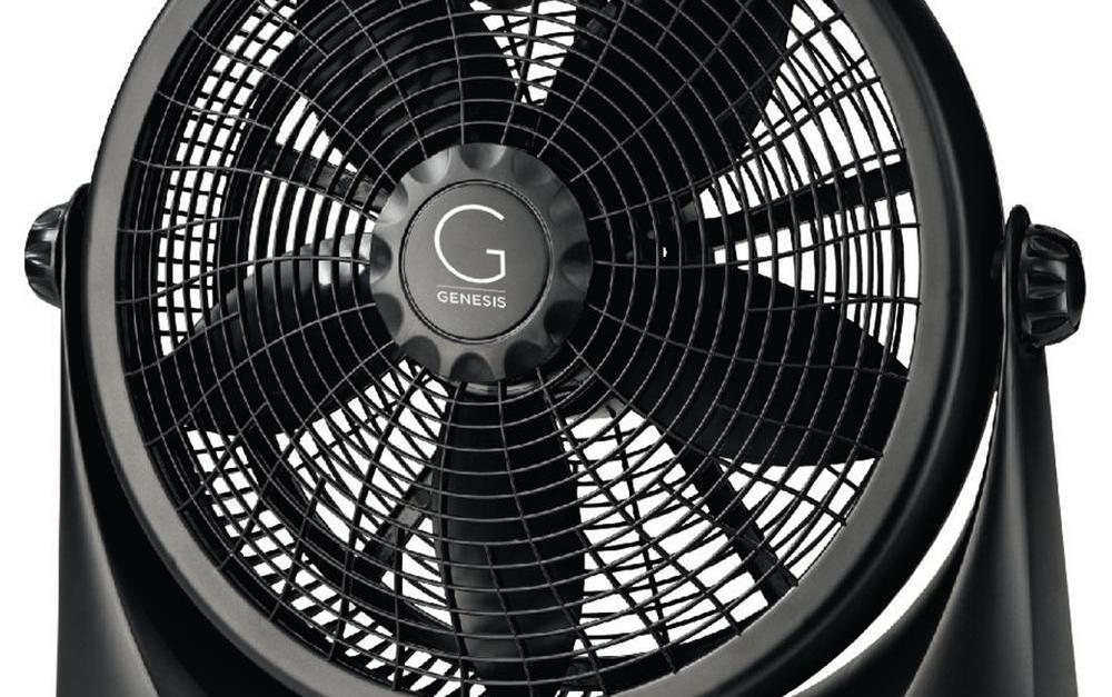 Genesis 16 in. 3-speed adjustable table fan for $20