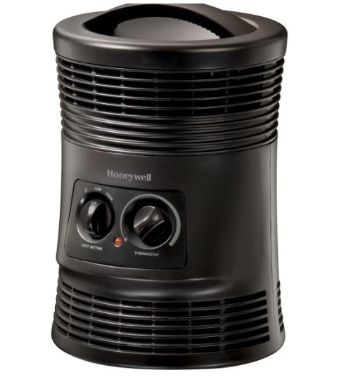 Honeywell 360 surround indoor heater for $15