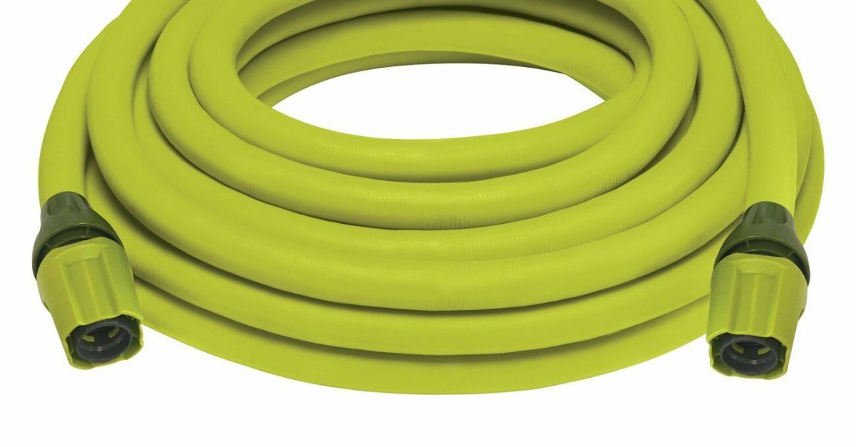 2-pack 75-foot Sun Joe expandable lightweight kink-free hose for $25, free shipping