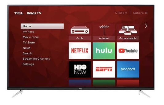 Price drop! Costco members: 75″ TCL 4k Roku TV for $920