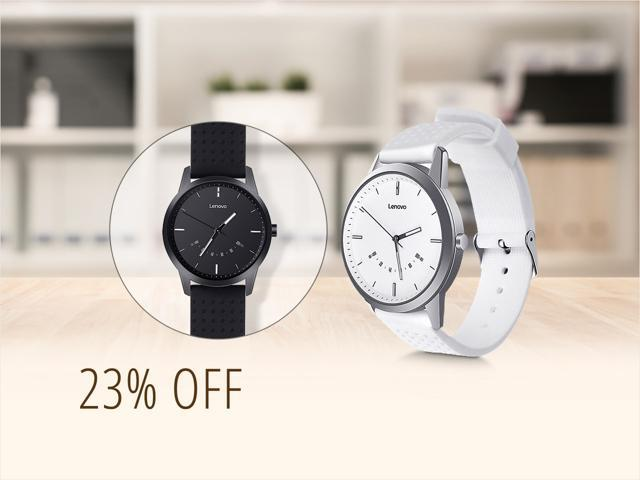 Lenovo smart watches for $24, free shipping
