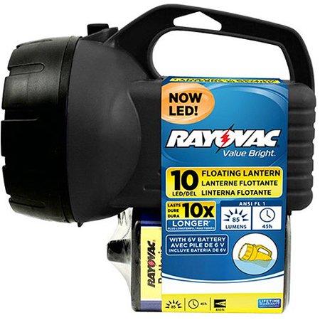 Rayovac 10 LED 6V floating lantern for $5