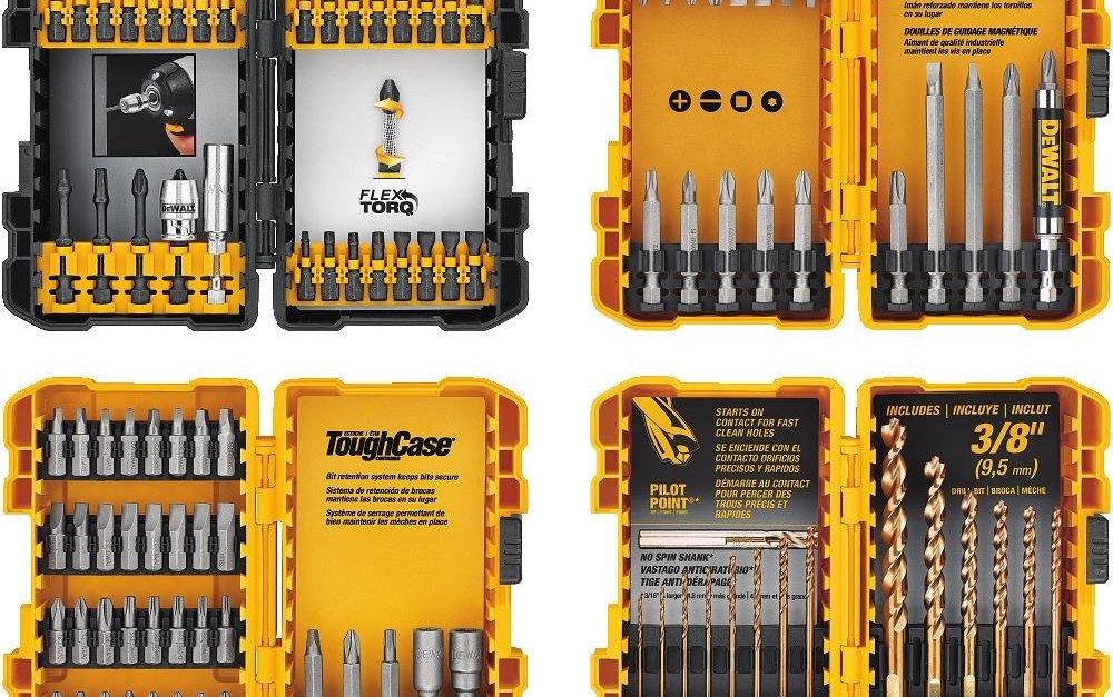 Price drop! 100-piece Dewalt screwdriving and drilling set for $22