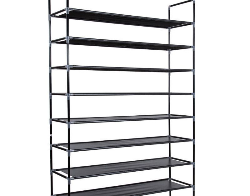 50-pair shoe rack for $15, free shipping