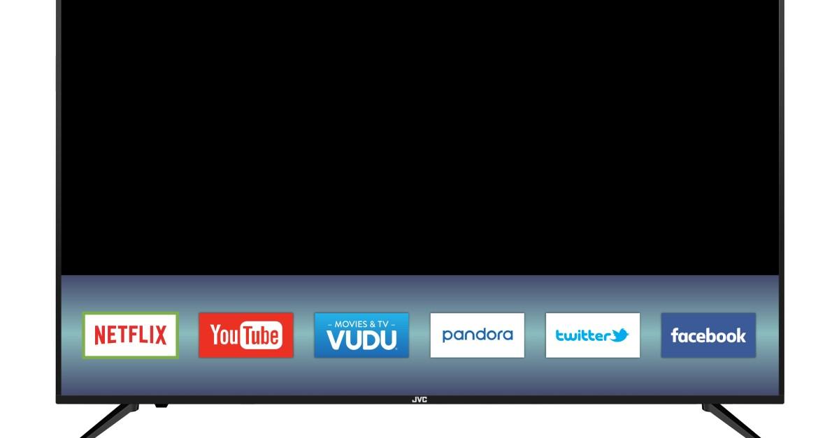 58″ JCV 4K Ultra HD smart TV for $300