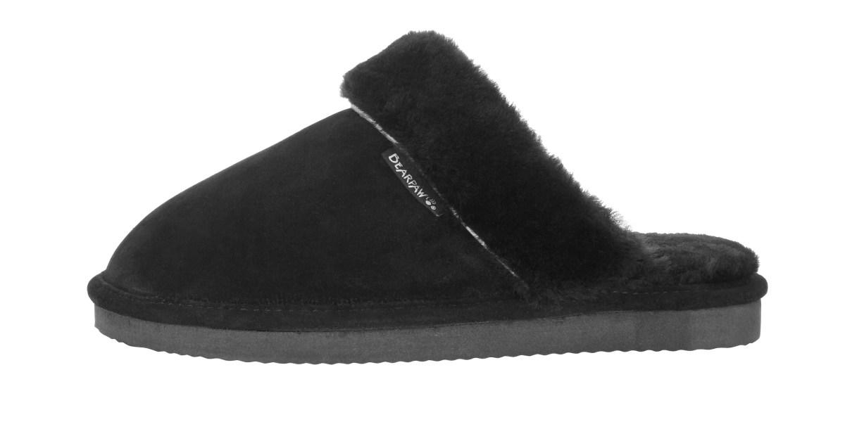 Price drop! Bearpaw women's plush slippers for $10