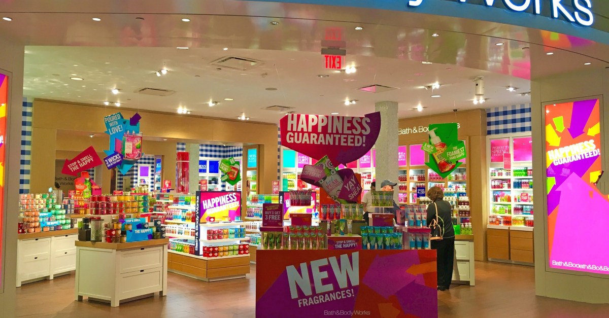 Bath and Body Works coupon: Save $10 on a purchase of $40 or more