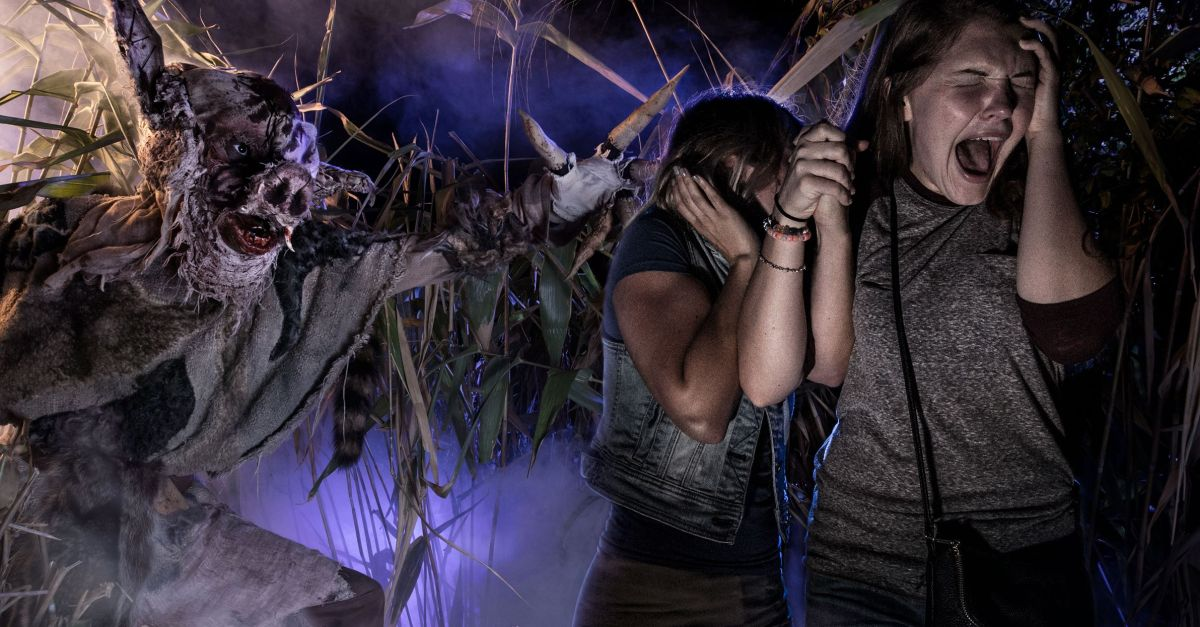 Universal's Halloween Horror Nights for $82 per person