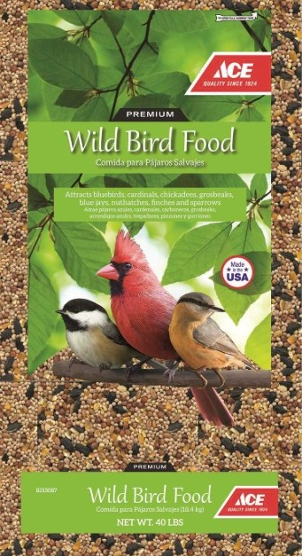 Ace 40-lb assorted species wild bird food for $10