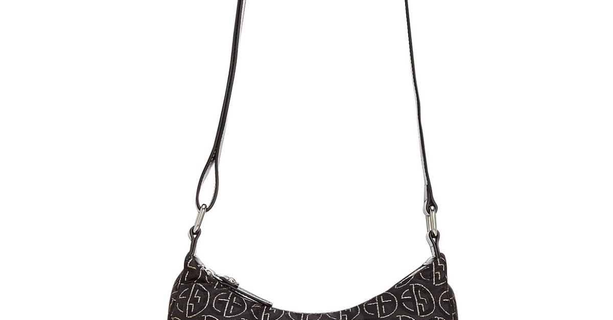 Giani Bernini Circle Signature Lurex hobo bag for $22, free store pickup